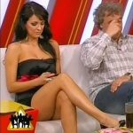 """Andrea Estevez muestra las mejores piernas del """"jet set"""" local"""