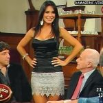 Paula Alvariñas y sus gambas de lujo en Polémica