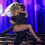 Florencia Vigna in Bailando 2016 (hot legs bachata)