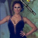 Barby Silenzi in Bailando 2016 (deep cleavage Tango)