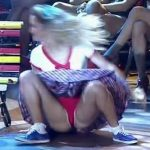 Florencia Vigna in Bailando 2016 (rock in red panties)
