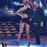 Florencia Vigna in Bailando 2016 (hot legs and upskirts Tango)