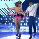 Iliana Calabro in Bailando 2016 (hot milf rock and roll)