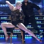 Laura Fernandez in Bailando 2016 (hot Tango and upskirts)
