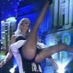 Nicole Neumann in Bailando 2016 (hot legs for Tango)