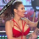 Barby Silenzi in Bailando 2016 (Melina Lezcano and oops)
