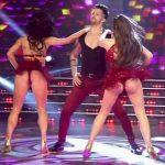 Charlotte Caniggia in Bailando 2016 (with Adabel Guerrero)