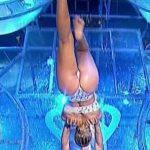 Florencia Vigna in Bailando 2016 (aquadance duel wet bum)