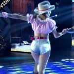 Barby Silenzi in Bailando 2016 (busty country girl)