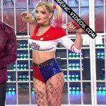 Laura Fernandez in Bailando 2016 (Harley Quinn !)
