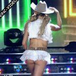 Maria Del Cerro in Bailando 2016 (sexy ass cowgirl)
