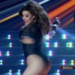 Charlotte Caniggia in Bailando 2016 (big boobs and ass)