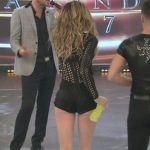 Cecilia Bonelli in Bailando 2017 (cute little butt in shorts)