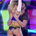 Macarena Rinaldi cumbia pop in Bailando 2017 (cute ass)