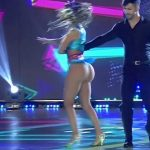 Silvina Luna and Ximena Capristo in Bailando 2017