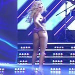 Maria Sol Perez hot ass in Bailando 2017 (salsa trio)