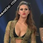 Barby Silenzi and Micaela Viciconte in Bailando 2017 (oops)
