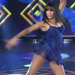 Marixa Balli salsa trio in Bailando 2017 (sexy showgirl)