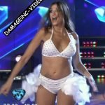 Catherine Fulop and Melina Lezcano in Bailando 2017