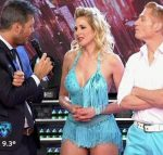 Alina Moine in Bailando 2016 (blonde with best legs ever !)