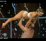 Barby Reali aquadance in Bailando 2015 (another fine booty)