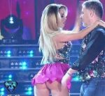 Barby Reali in Bailando 2016 (great set of upskirts !)