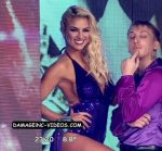 Barby Silenzi and Ailen Bechara in Bailando 2016