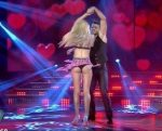 Candela Ruggeri dancing in Bailando 2015 (superb legs blonde)
