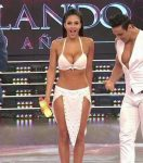 Celeste Muriega in Bailando 2015 (big bouncing tits)