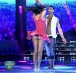 Celeste Muriega in Bailando 2015 (big ass upksirts…)
