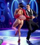 Celeste Muriega hot tango in Bailando 2015 (big booty in thong)