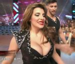 Charlotte Caniggia in Bailando 2016 (hot cleavage and upskirts)