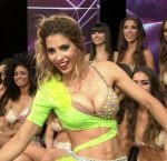 Cinthia Fernandez in Bailando 2015 (huge tits and hot upskirts)