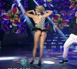 Laura Fernandez in Bailando 2015 (hot cleavage and upskirts)