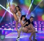 Lourdes Sanchez and Griselda Siciliani In Bailando 2015