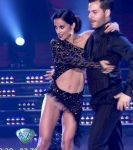 Lourdes Sanchez in Bailando 2015 (hot upskirts tango)