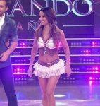 Lourdes Sanchez in Bailando 2015 (sexy legs brunette)