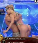 Luciana Salazar hot ass in Bailando 2015 (sexy aquadance)