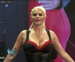 Nazarena Velez shakes her big boobs in Bailando 2015
