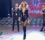 Sabrina Rojas in Bailando 2016 (hot body in leather catsuit)