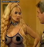 Dana Fleyser in see through lingerie (huge knockers)