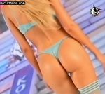 Luciana Salazar on the catwalk (perfect ass in thong !)
