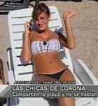 Silvina Luna, Ximena Capristo and Eliana Guercio in bikini