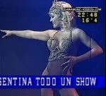 Maria Eugenia Rito starring as a showgirl at the theatre