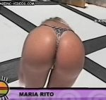 Maria Eugenia Rito in a hot videoclip… superb booty in bikini !
