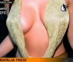 Natalia Fassi with a breathtaking cleavage (great tits !)