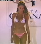 Pampita in Mar del Plata Moda Show 2003 (stunning beauty !)