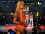 Pampita, Prandi, Sadej and Lopez (asses in red hot thongs)
